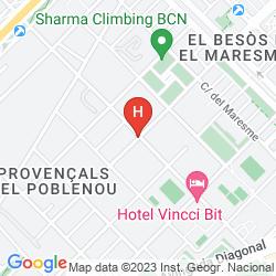 Karte BARCELONA CONDAL MAR