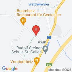 Karte OBERWAID