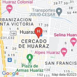 Karte HOSTAL INKA