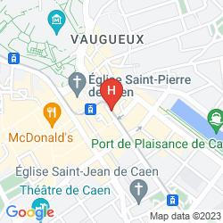 Karte DU CHâTEAU