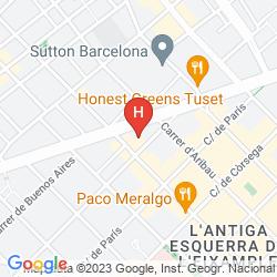 Karte GUITART GRAND PASSAGE