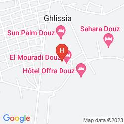 Karte EL MOURADI DOUZ