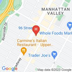 Karte DAYS INN HOTEL NEW YORK CITY - BROADWAY