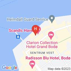 Karte SCANDIC HAVET
