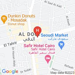 Karte SAFIR HOTEL CAIRO