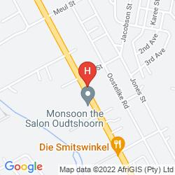 Karte LODGE 96 - HOSTEL