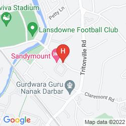 Karte SANDYMOUNT
