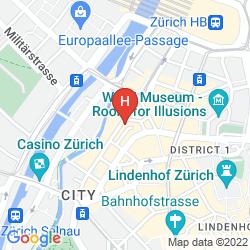 Karte CITY ZURICH