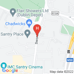 Karte BONNINGTON DUBLIN