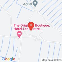 Karte LES 4 SALINES