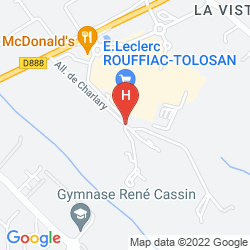 Karte ADONIS TOULOUSE - APPART'HOTEL DU PARC