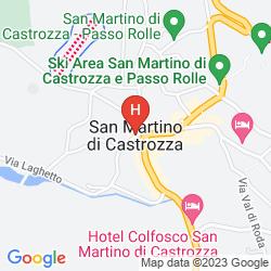 Karte FAMILY HOTEL LA PERLA