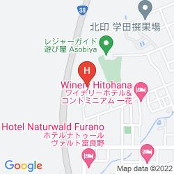 Karte CHALET FUYURI
