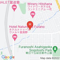 Karte KASHIWA HOUSE FURANO