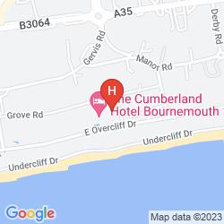 Karte OCEAN BEACH HOTEL & SPA