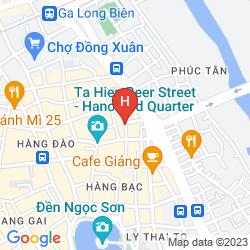 Karte HANOI SPACE