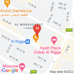 Karte EXCELSIOR HOTEL DOWNTOWN