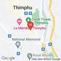 Karte HOTEL JUMOLHARI
