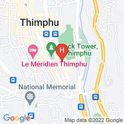 Karte WANGCHUK HOTEL
