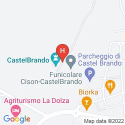 Karte CASTELBRANDO