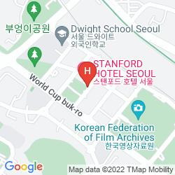Karte STANFORD HOTEL
