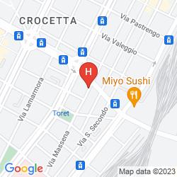 Karte ART HOTEL BOSTON