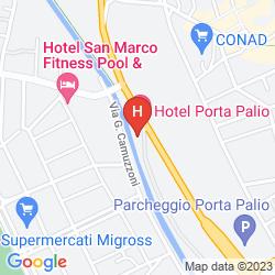 Karte PORTA PALIO