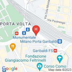 Karte AC MILANO