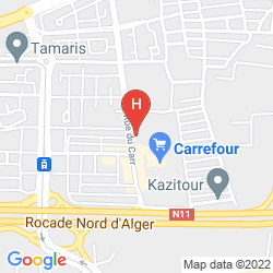 Karte HANI HOTEL