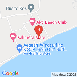 Karte AKTI BEACH CLUB