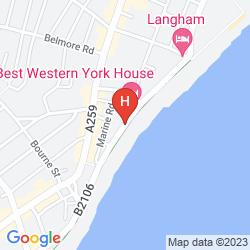 Karte LANGHAM