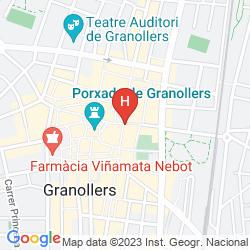 Karte HOLIDAY INN EXPRESS BARCELONA-MONTMELO