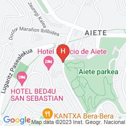 Karte PALACIO DE AIETE