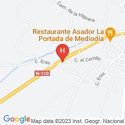 Karte PUERTA DE SEGOVIA