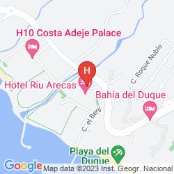 Karte SHERATON LA CALETA RESORT & SPA, COSTA ADEJE, TENERIFE
