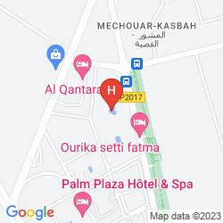 Karte  MOGADOR PALACE AGDAL