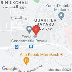 Karte AYOUB HOTEL & SPA