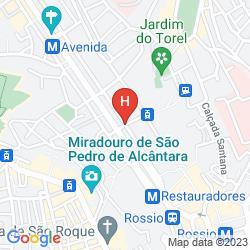 Karte HERITAGE AV LIBERDADE