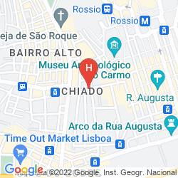 Karte BORGES CHIADO
