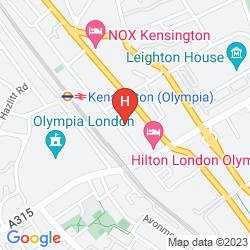 Karte KENSINGTON PRIME