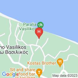 Karte VASILIKOS BEACH