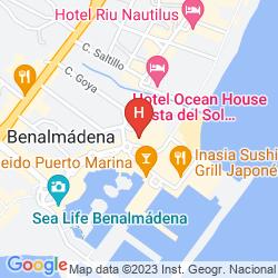 Karte MAC PUERTO MARINA BENALMADENA