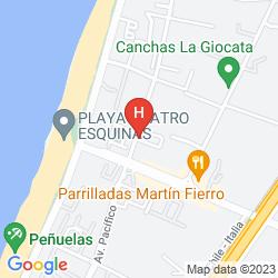 Karte GRAN PACIFICO APARTMENTS