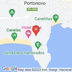 Karte CANELAS (ONLY ATLAS)