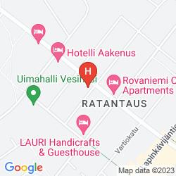 Karte SANTA'S HOTEL RUDOLF