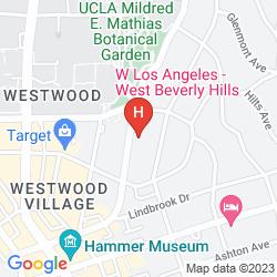 Karte W LOS ANGELES - WEST BEVERLY HILLS