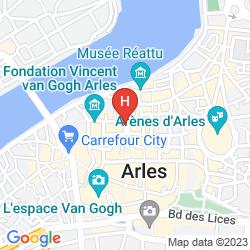 Karte D' ARLATAN