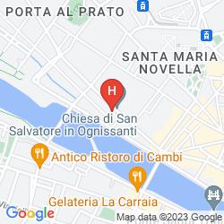 Karte THE WESTIN EXCELSIOR, FLORENCE
