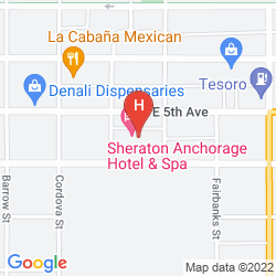 Karte SHERATON ANCHORAGE HOTEL & SPA
