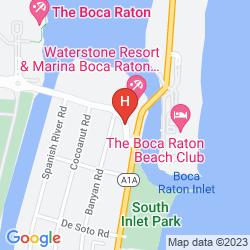 Karte WATERSTONE RESORT & MARINA BOCA RATON, CURIO COLLECTION BY HILTON
